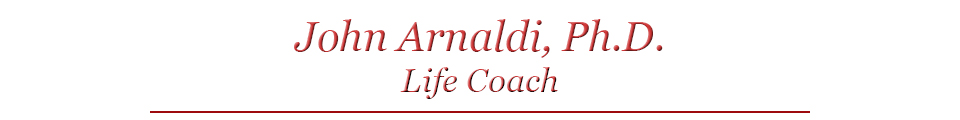 Tampa Life Coach - Dr. John Arnaldi - The Intimacy Coach